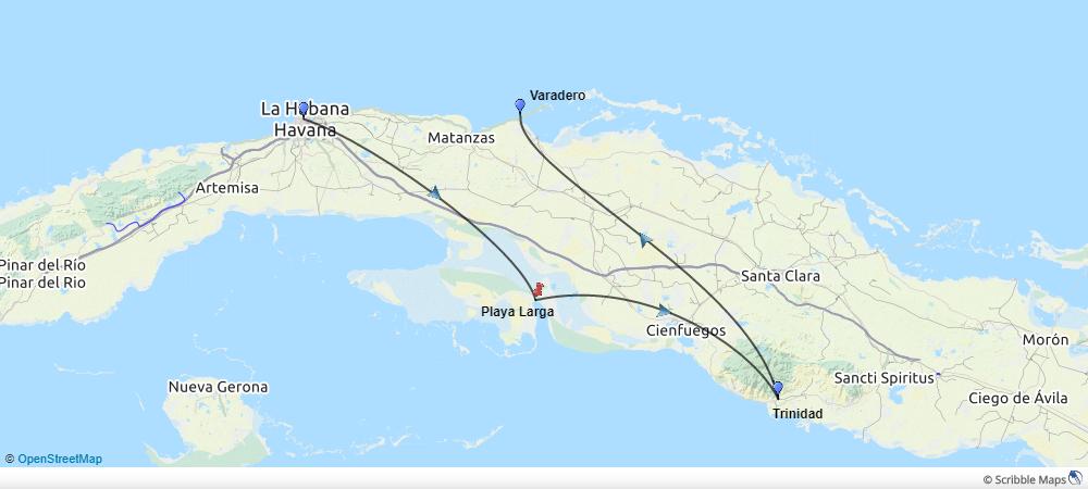Cuba-sommer-single-kort