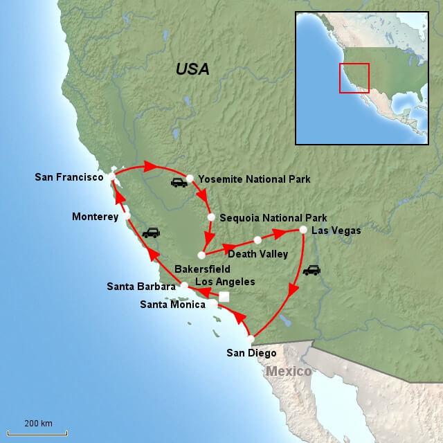 Rejse Til Californien 15 Dages Dromme Rundrejse