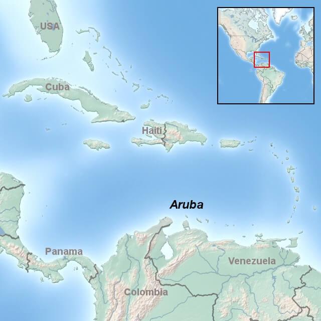 kort-til-aruba