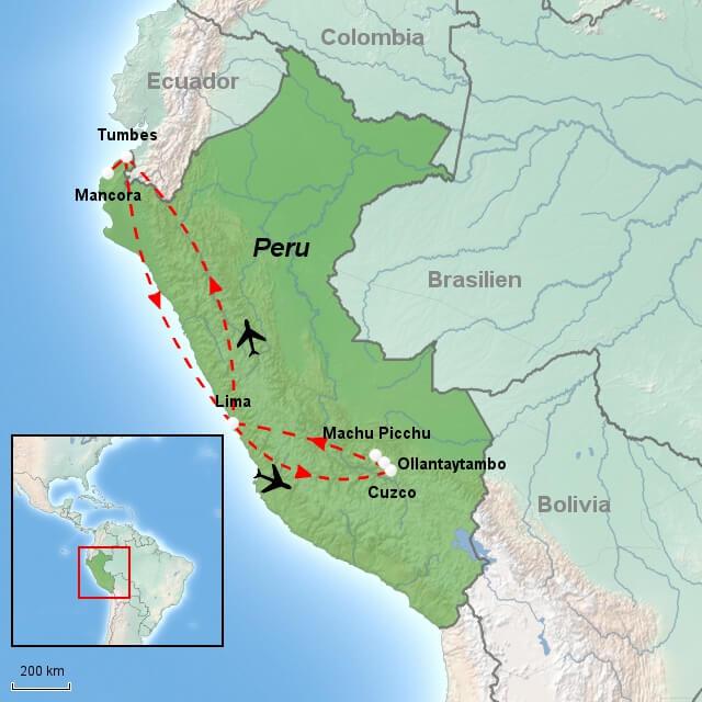 Rejser Til Peru Kultur Og Strandferie I 16 Dage