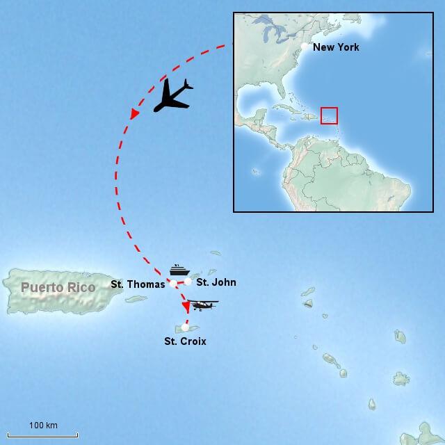 vejret de vestindiske øer januar