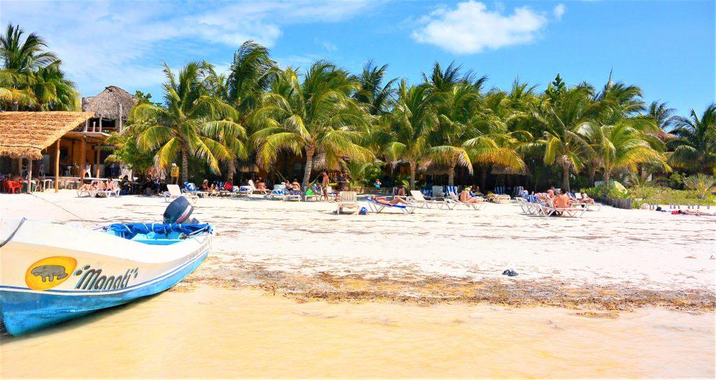 På en rejse til Isla de Holbox ser du lækre strande