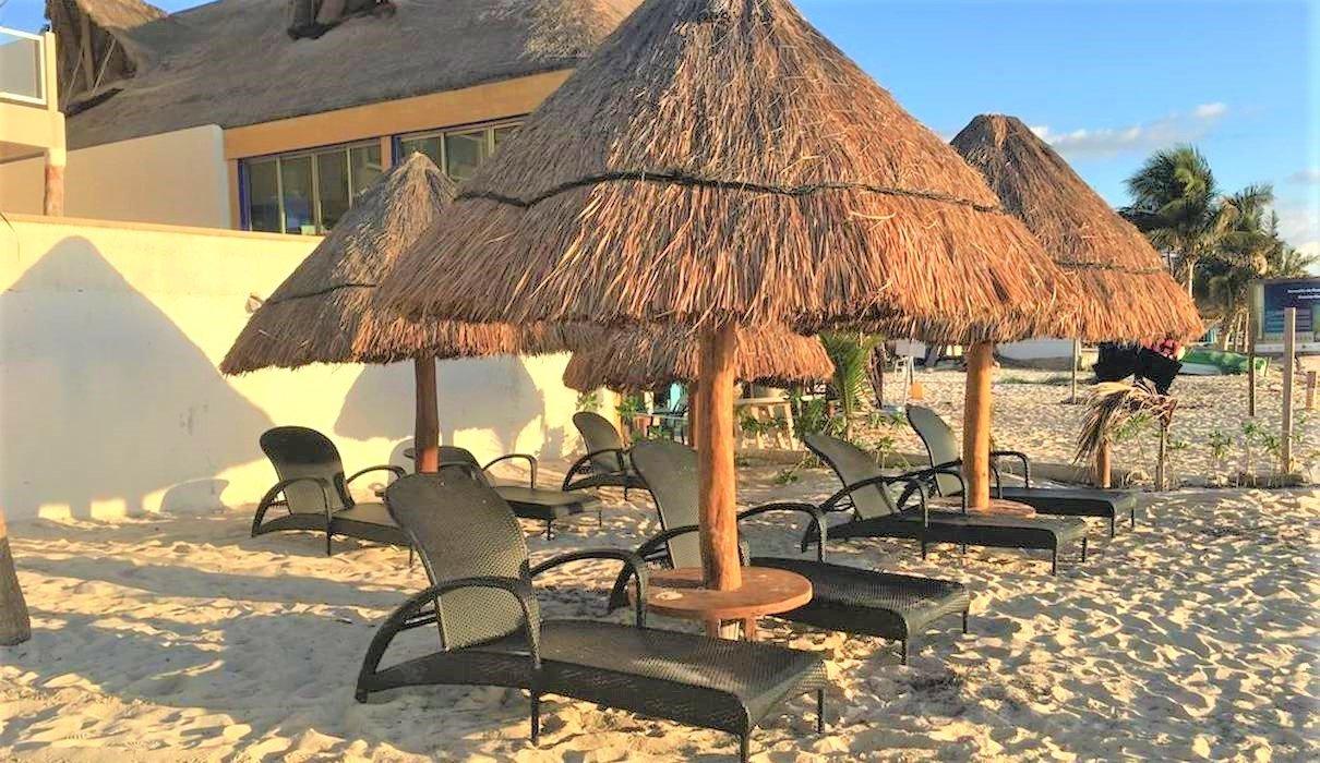 Puerto Morelos har det dejlige hotel Hacienda Morelos Hotel