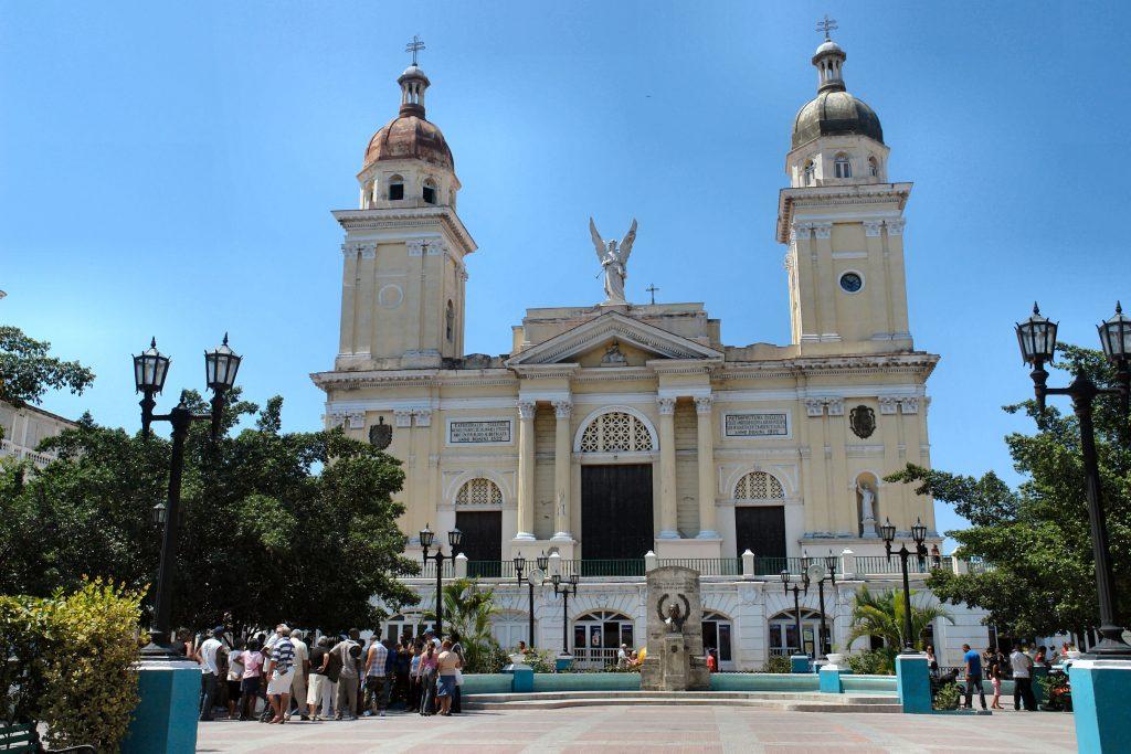 På rejser til Cuba bør du se Santiago de Cuba's katedral