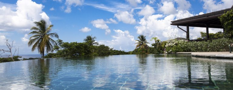 På en luksuriøs rejse til Tobago bor du i Villas at Stonehaven