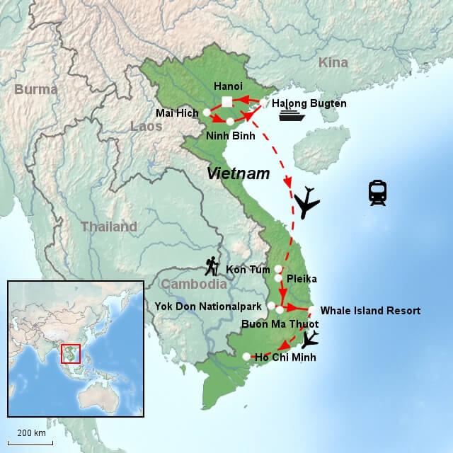 Rejser Til Vietnam Gruppe Eller Singlerejser