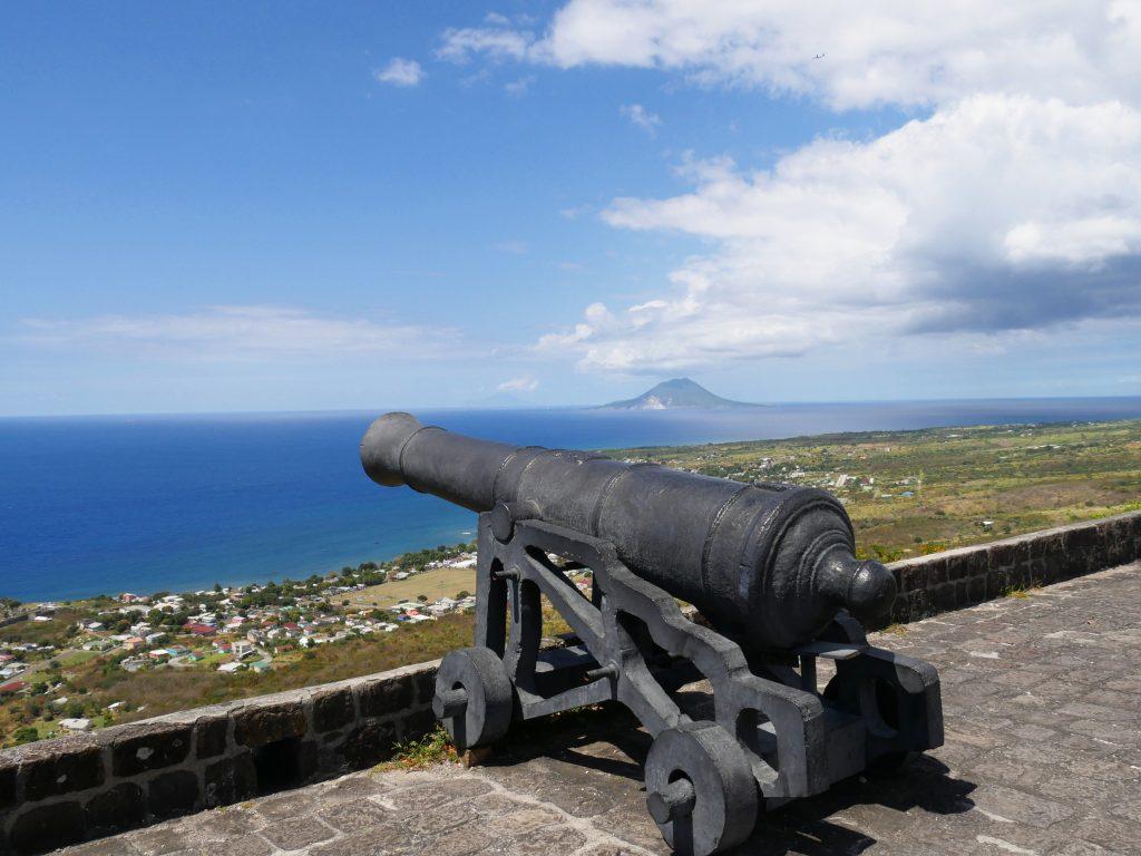 Fort St. Louis er det største fort på St. Martin/St. Maarten