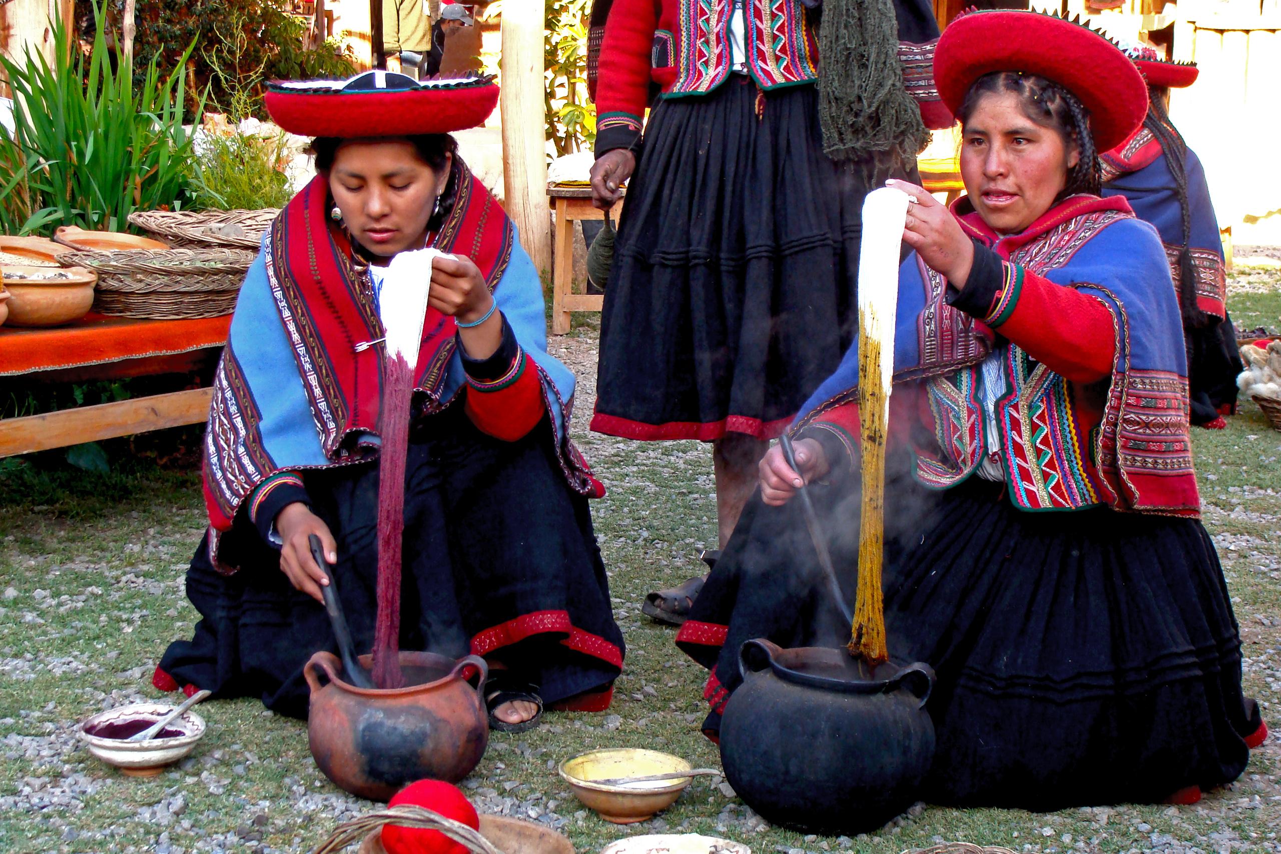 På en rejse til Peru ser du også Chinchero