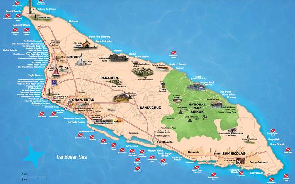 Detaljeret-Aruba-kort-minimeret