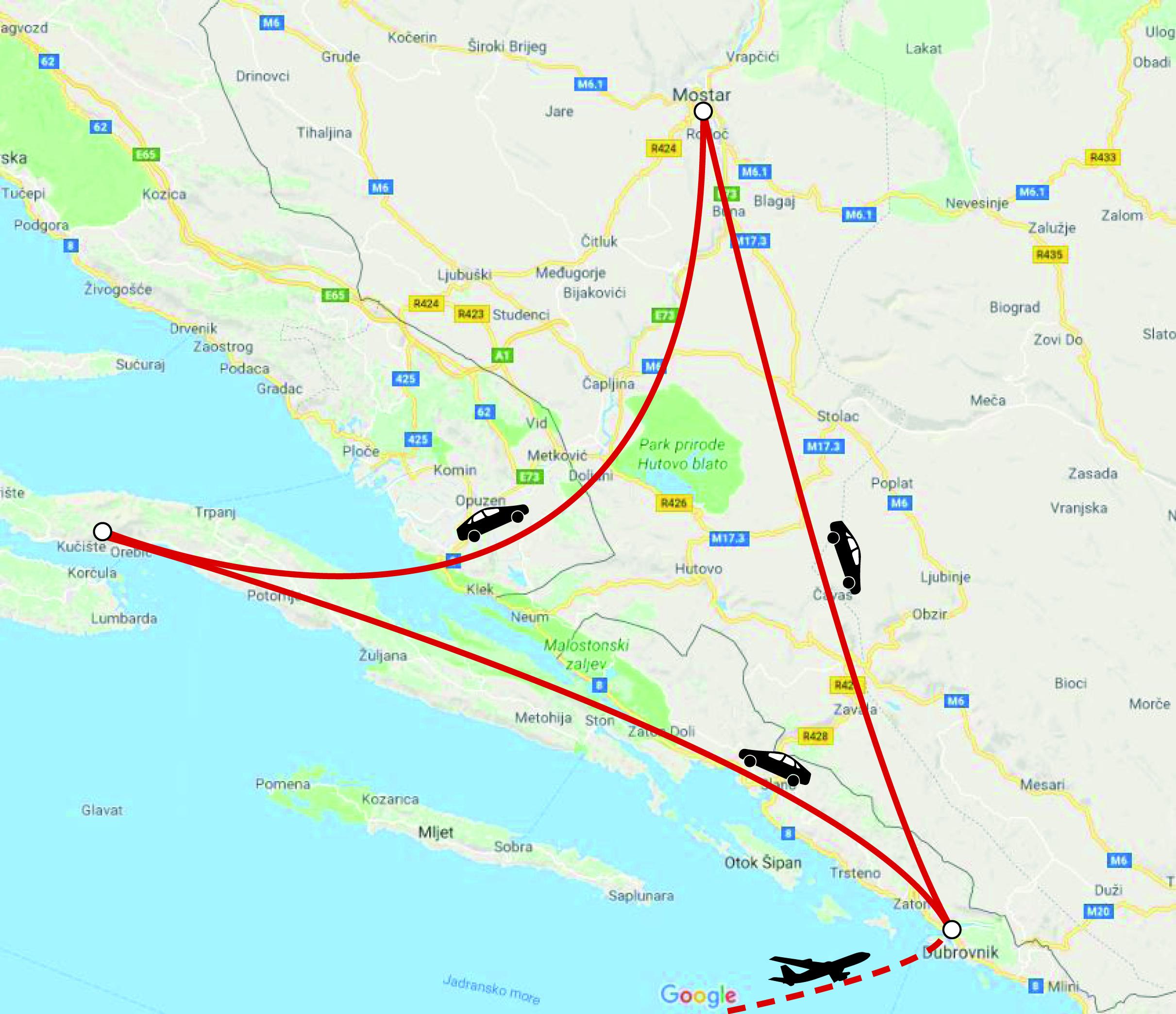 Rejser til Kroatien – Ferie i Kroatien om kør-selv eller feriebolig
