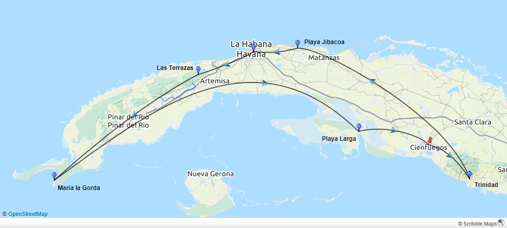 Cuba-natur-kort