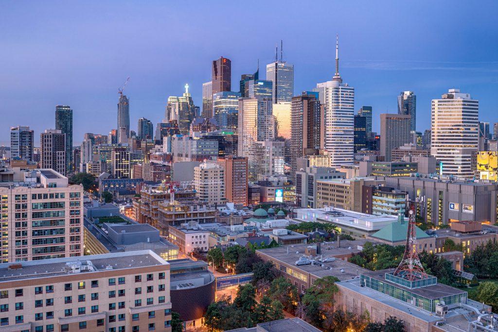Toronto's skyline får skyld for at ligne New York City's