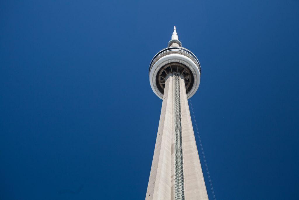 CN-tårnet i Toronto er eet af de højeste i verden