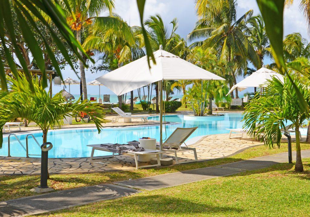 Svane Rejser's hoteller i Mauritius - Pool på Paul et Virginie