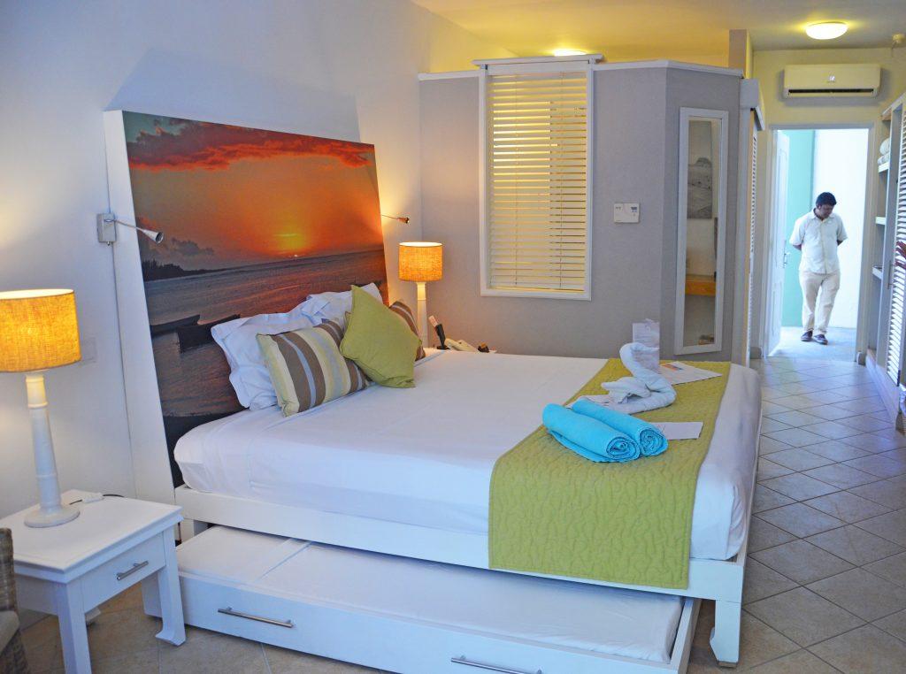Svane Rejser's hoteller i Mauritius - Værelse på Grand-Baie