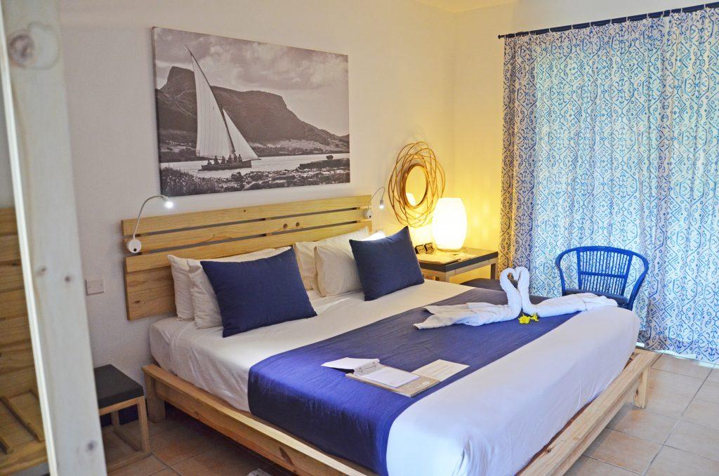 Svane Rejser's hoteller på Mauritius - Værelse på Pointes aux Biches