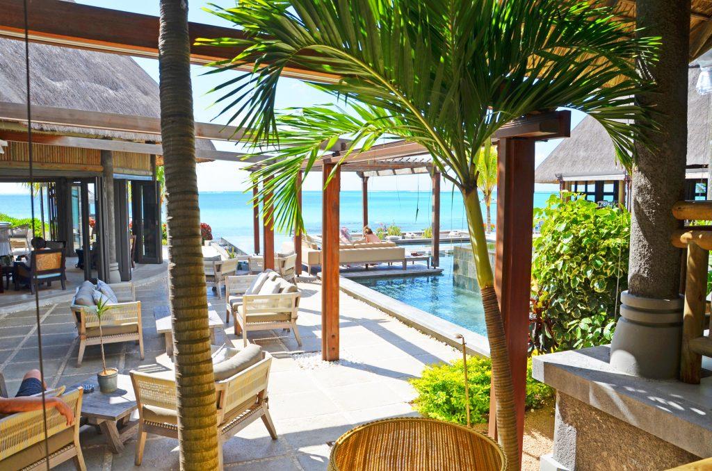 Svane Rejser's hoteller i Mauritius - Strandbar på Paul et Virginie