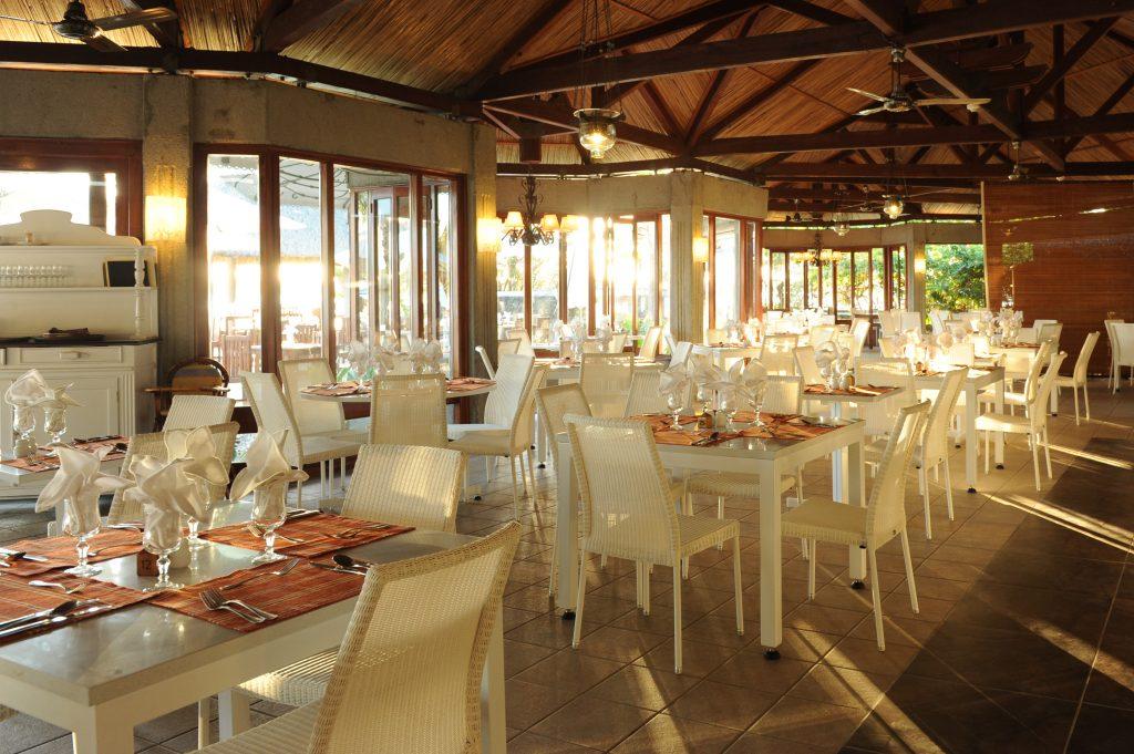 Hotel Grand-Baie's lækre restaurant Poudre-d-Or