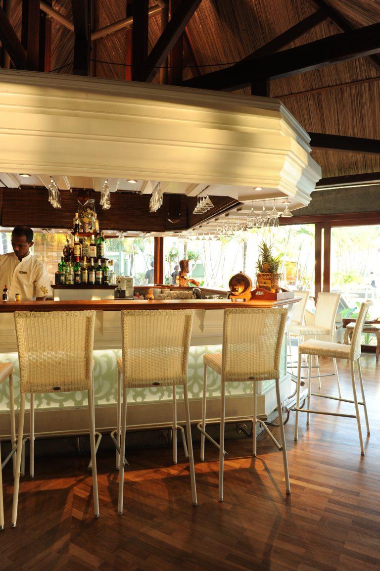 Hotel Grand-Baie's har flere barer på resortet