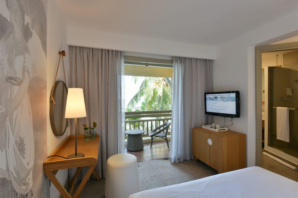 Hotel Paul & Virginie har kun kvalitetsværelser - her et Comfort Room