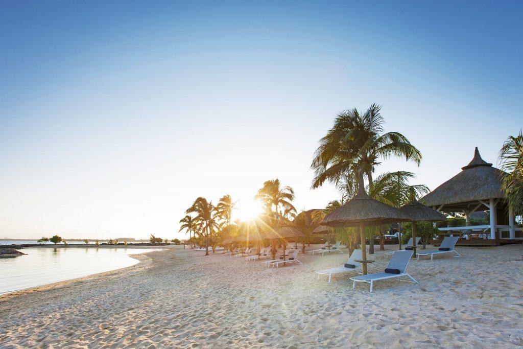 Hotel Pointes-aux Biches har en lækker privat strand