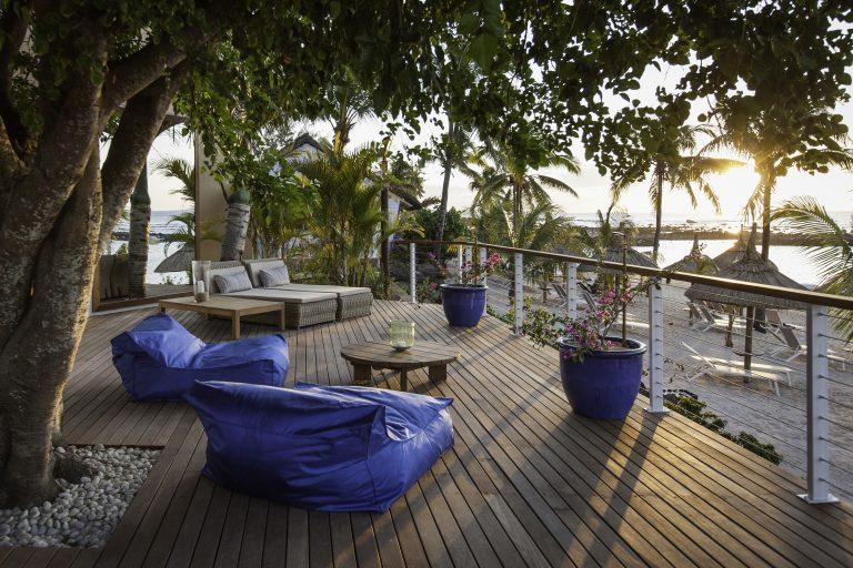 Hotel Pointes-aux Biches har flere barer med udsigt over stranden