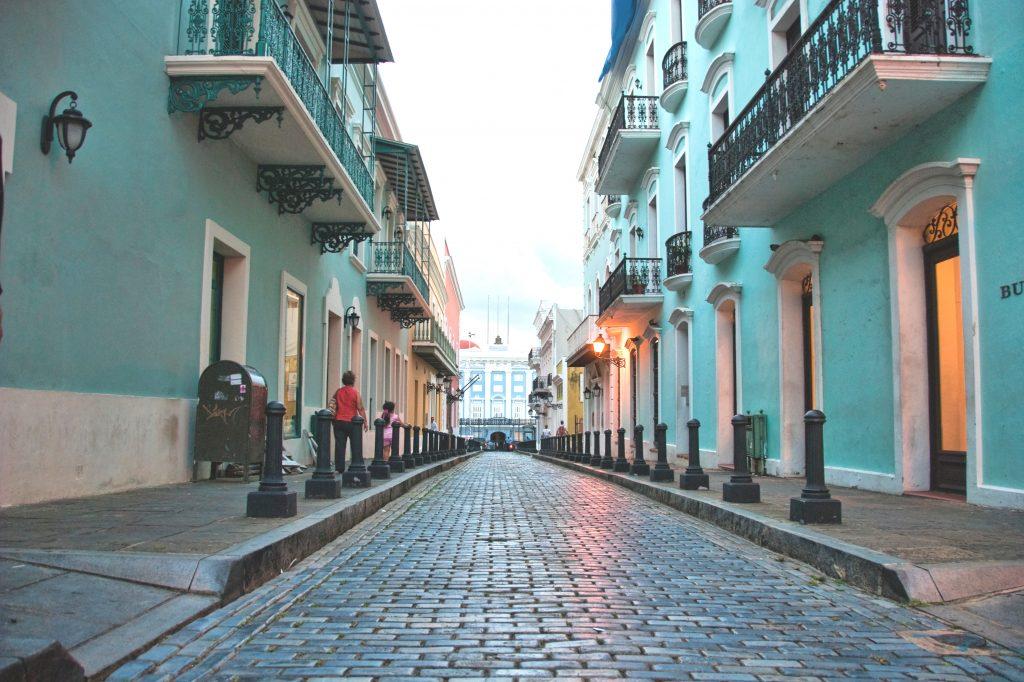 Puerto Rico's hovedstad San Juan's gamle bydel