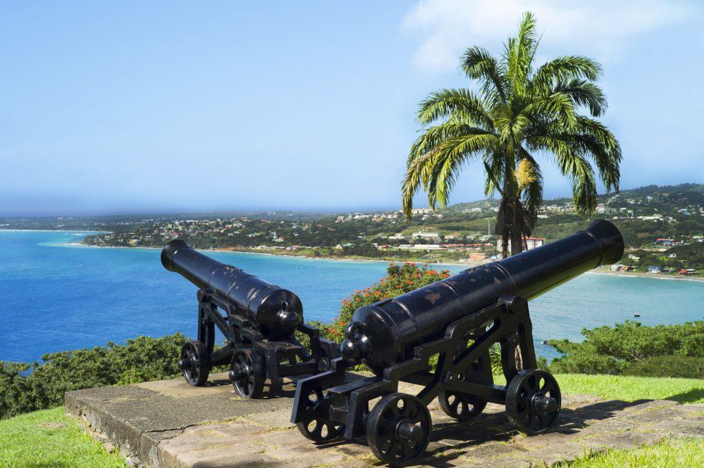 Fort King George skal du se på en ferie i Tobago