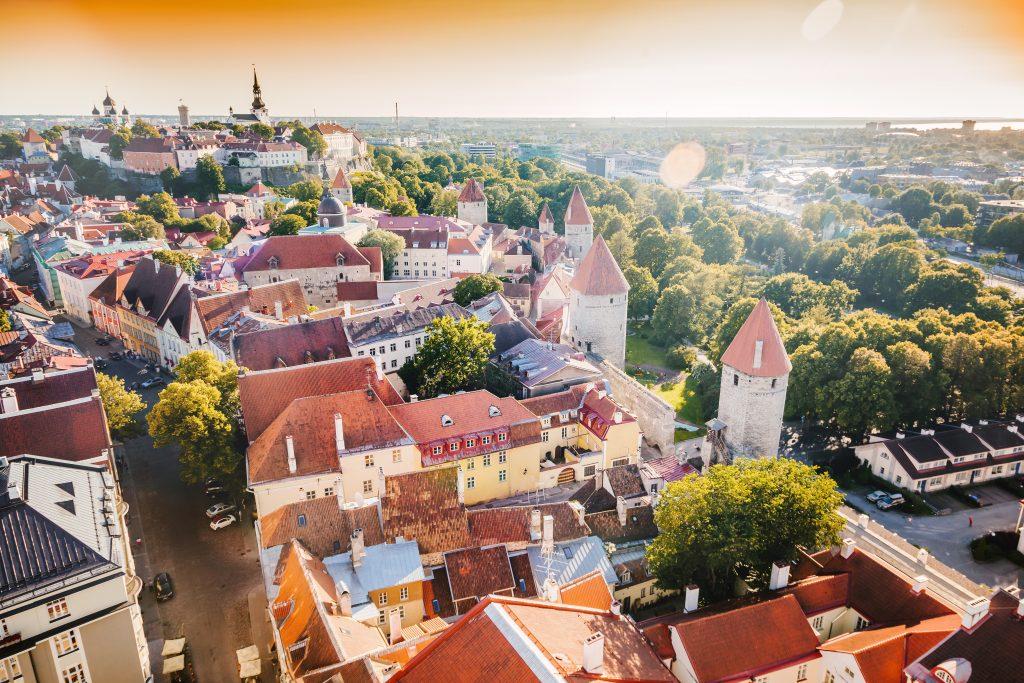 På et krydstogt til Østersøen oplever du Tallinn