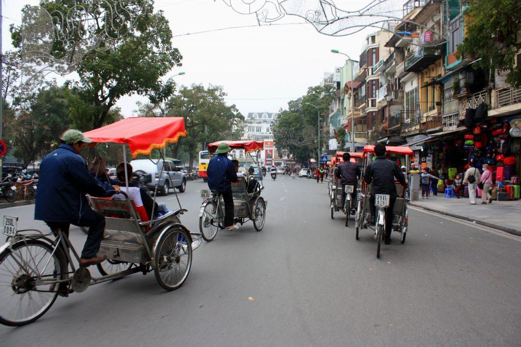 På rundrejse i Vietnam for singler ser vi også Hanoi
