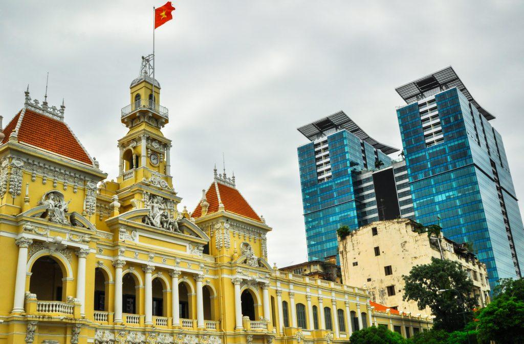 På rundrejse i Vietnam for singler ser vi også Ho Chi Minh City