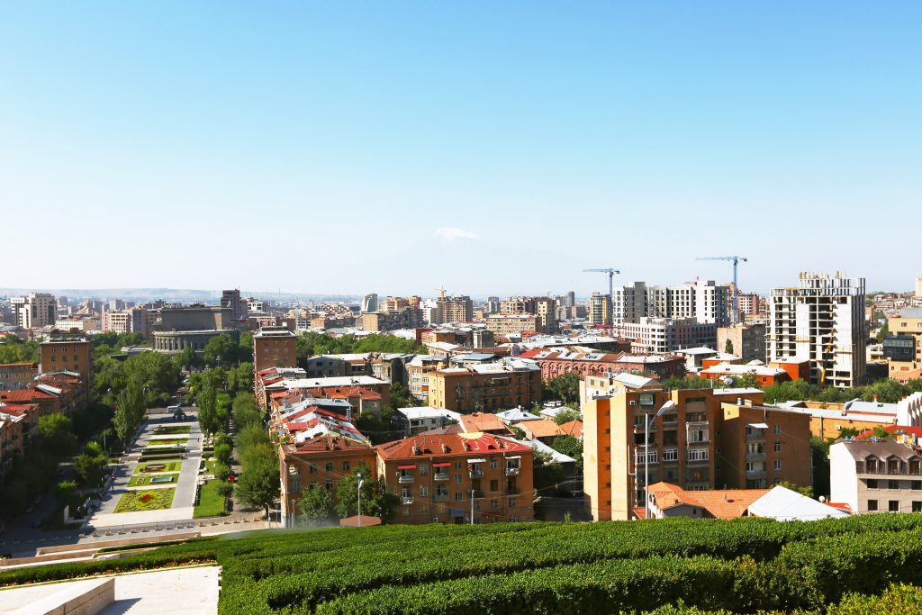 På rejser til Armenien oplever du også Jeravan