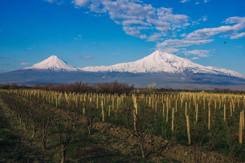 På rejser til Armenien ser du også bjerget Ararat