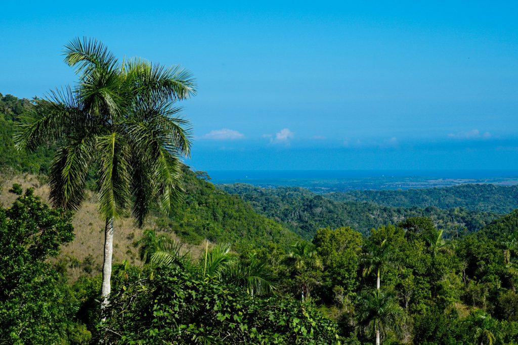 På en rejse til Cuba kan du se El Cubano Natural Park ved Trinidad