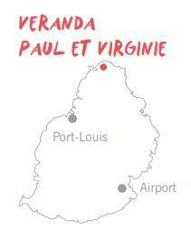 På rejser til Mauritius kan du bo på Veranda Paul et Virginie