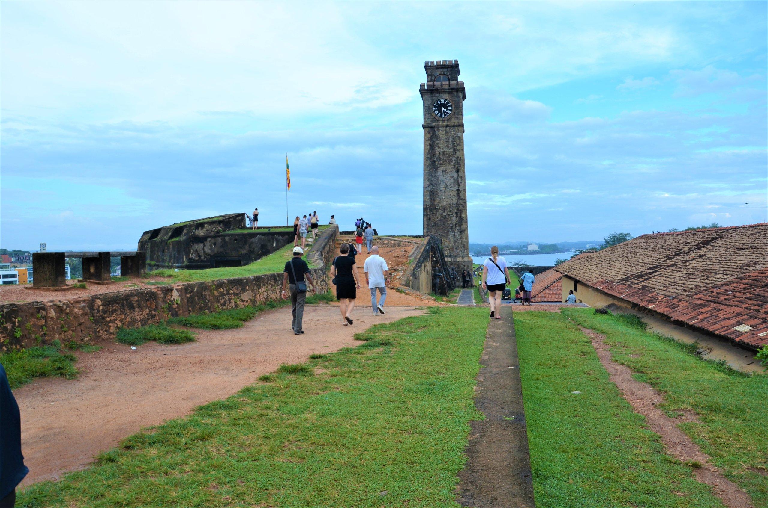 På en rejse til Sri Lanka ser du også det gamle fort i Galle