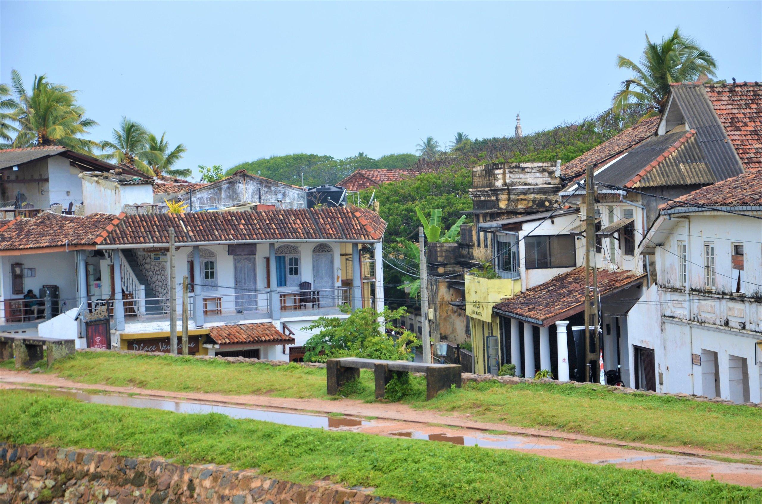 På en rejse til Sri Lanka ser du også den gamle by i Galle