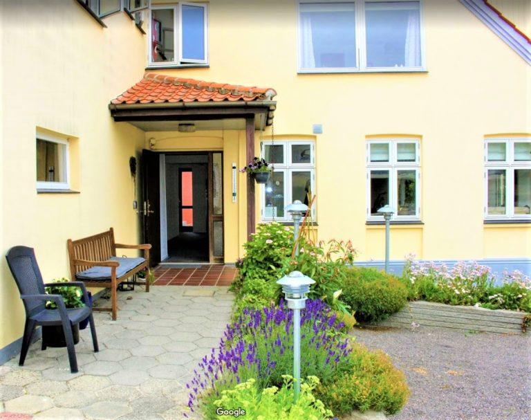 Nordvig bed&breakfast på Bornholm ligger centralt i Sandvig