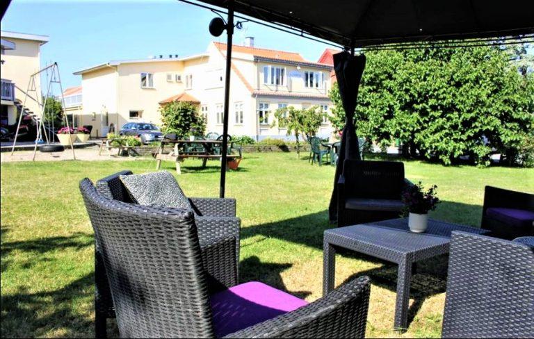 Nordvig bed&breakfast på Bornholm har en dejlig have