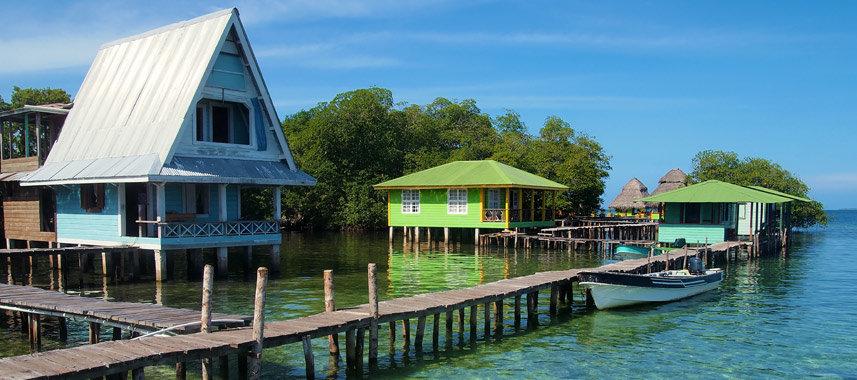 På en rejse til Panama ser du også Bocas del Toro