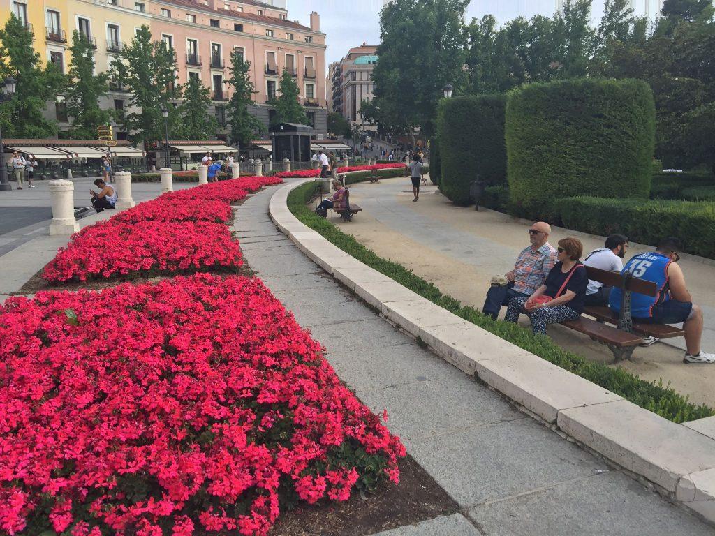 På en rejse til Madrid ser du byens parker