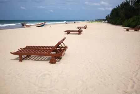 Sri Lanka har mange kilometer lækre strande