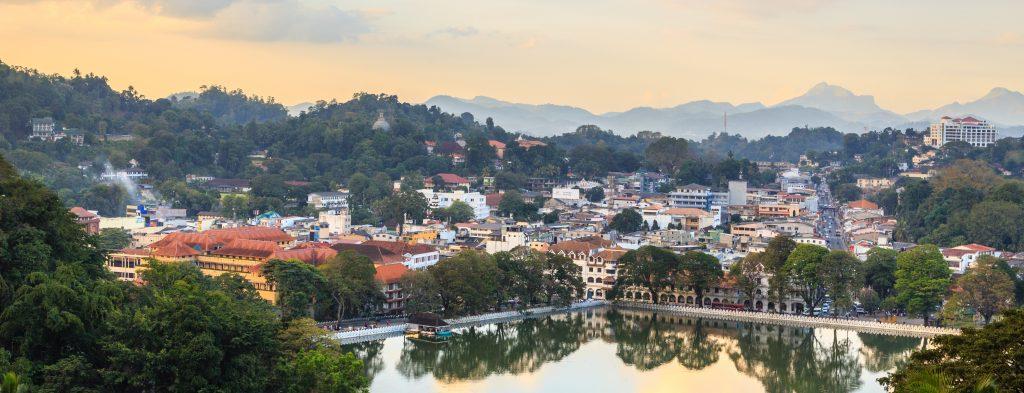 Kandy er een af Sri Lankas helligste byer