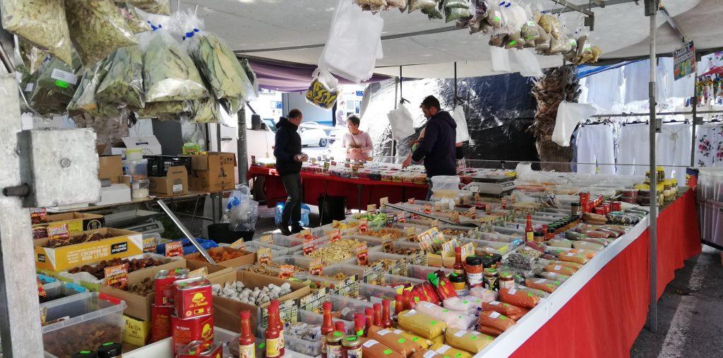 Lokalt marked i Spanien
