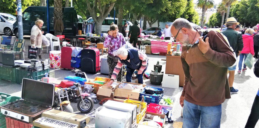 På en rejse til Almuñecar i Sydspanien ser du flere markeder