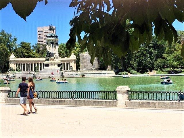På en rejse til Madrid ser du masser af parker