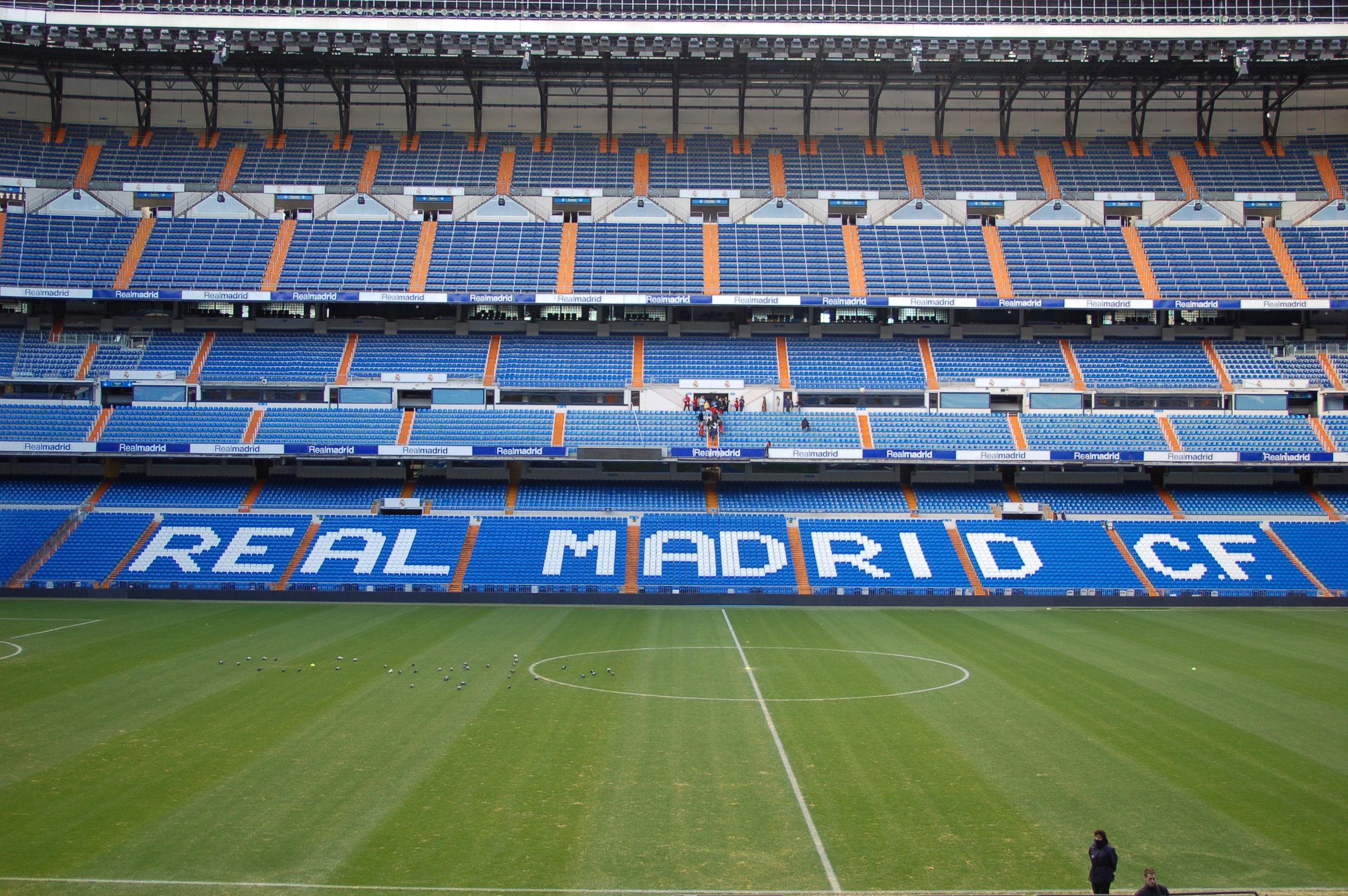 På en rejse til Madrid kan du også se Bernabeu