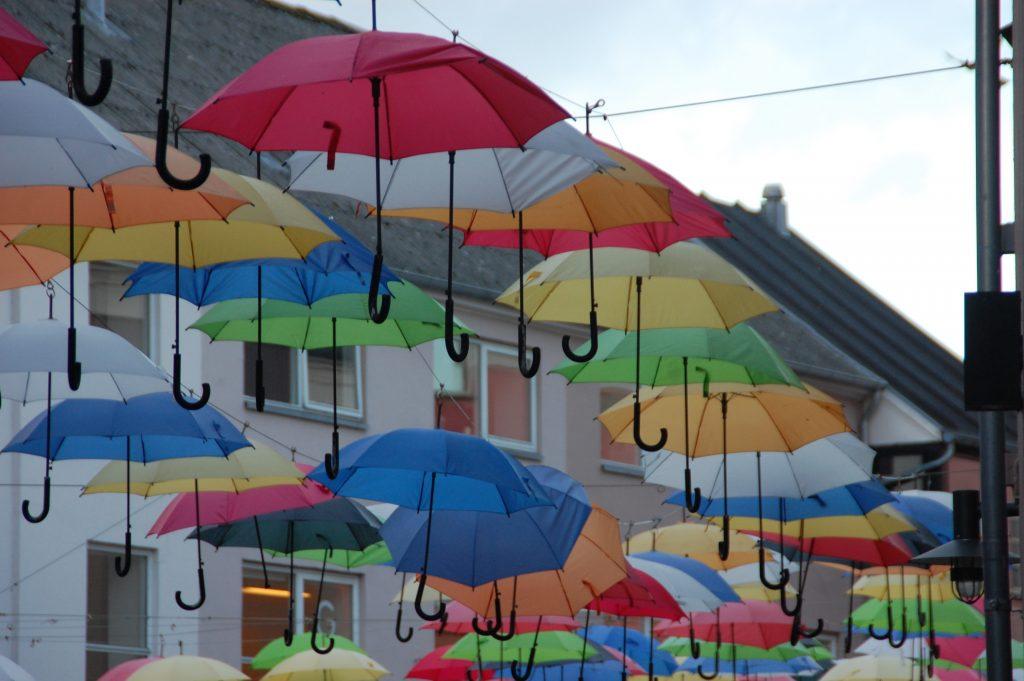 På en ferie i Vejle ser du hyggelige gader