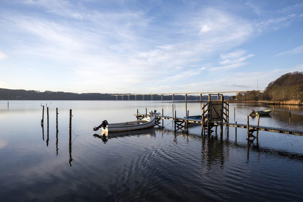 Danmark-Vejle-Vejle-Fjord-morgenstemning