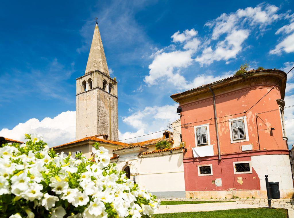 På en rejse til Porec i Istrien i Kroatien skal du se byens basilika